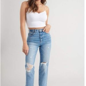 Garage retro high waisted jeans size 3